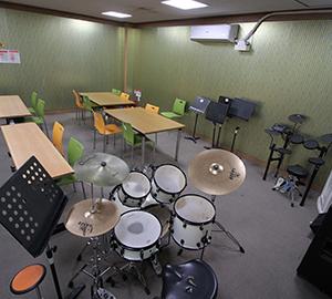 시립성북청소년센터 음악 연습실